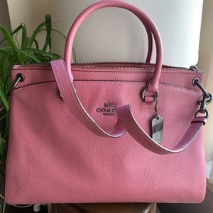 Authentic Coach pebbled leather Satchel/Crosby 🌸
